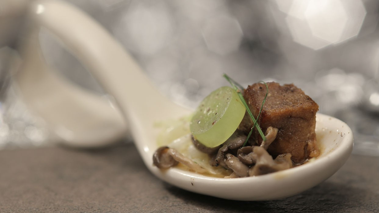 Lngua bovina com cogumelos (Foto: GNT)