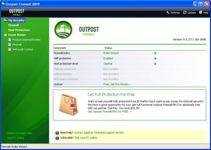 Interface Outpost Firewall Free