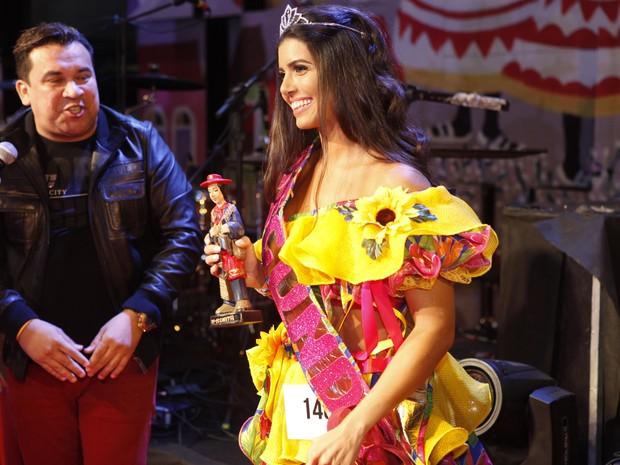 Renata Benevides, segunda colocada no concurso Beleza Nordestina (Foto: Anderson Barros/ EGO)