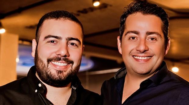 Jozimar Jr e Frederico, fundadores da rede Wayne's Burger Star (Foto: Divulgação)