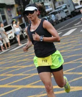 Carmen Leal é especialista em corrida de rua (Foto: Arquivo Pessoal)