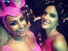Fotos postadas em rede social mostram famosos se divertindo em baile de gala