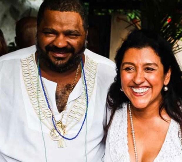 Arlindo Cruz e Regina Casé (Foto: Reprodução)