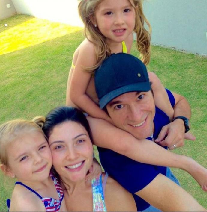 Daniel com a família reunida (Foto: Arquivo pessoal)