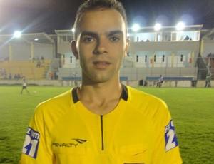 Renan Roberto, árbitro da Paraíba (Foto: Divulgação)