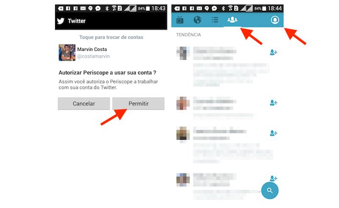 Criando uma nova conta no Periscope com os dados de acesso do Twitter (Foto: Reprodução/Marvin Costa)
