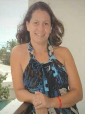 Professora Cristiane Silva Matos, que foi encontrada morta dentro do carro no estacionamento do Parque da Cidade (Foto: TV Globo/Reprodução)