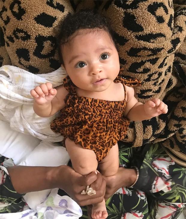 Alexis Olympia, filha de Serena Williams (Foto: Reprodução/Instagram)