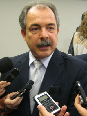 O ministro da educação Aloizio Mercadante (Foto: Paulo Guilherme/G1)