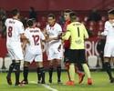 Ganso abre o placar, Sevilla massacra rival e vai às oitavas na Copa do Rei