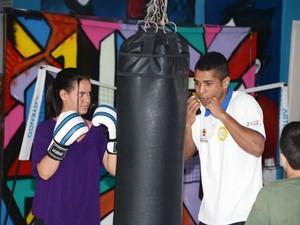 Jovens podem fazer curso de boxe gratuito em Sorocaba (Foto: Divulgação / Prefeitura de Sorocaba)