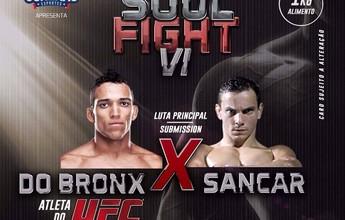 Evento beneficente em São José tem atletas do UFC em lutas de submission