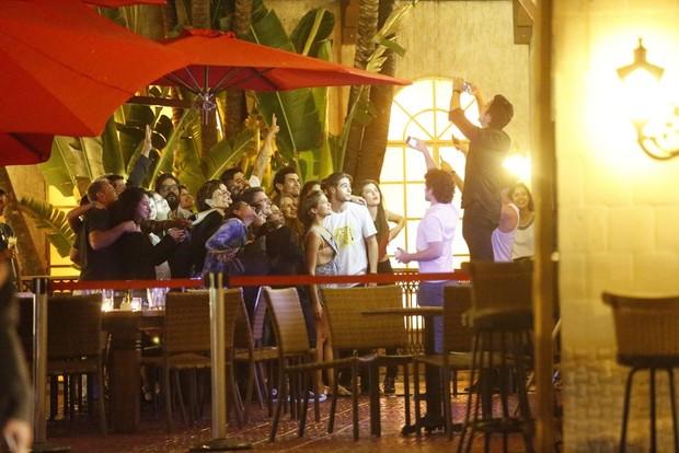 Elenco comemora o último capitulo de Malhação  (Foto: AgNews / AgNews)