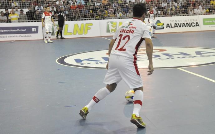 Falcão, Arena Móvel, Sorocaba Futsal, Liga Nacional de Futsal, São José (Foto: Danilo Camargo / Futsal Brasil Kirin)