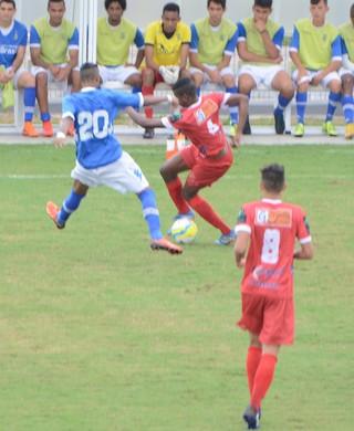 União Mogi X Santo André sub-20 (Foto: Bruno Rocha)