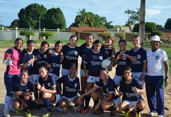 São Francisco futebol feminino (Foto: Gustavo Campos/GloboEsporte.com)
