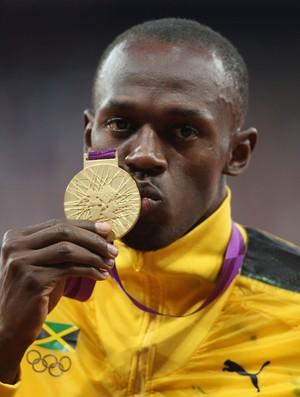Usain Bolt 100m Olimpíadas 2012 (Foto: Getty Images)
