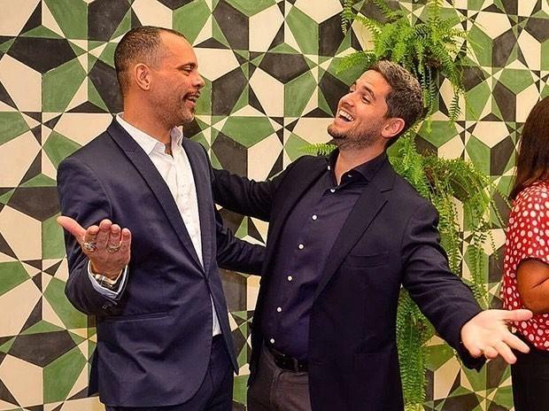 Ricardo Cruz e Rony Meisler (Foto: Reprodução/Instagram)