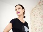 Carolina Kasting mostra barrigão no nono mês da gravidez
