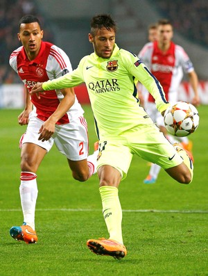 Neymar, Barcelona x Ajax (Foto: Reuters)