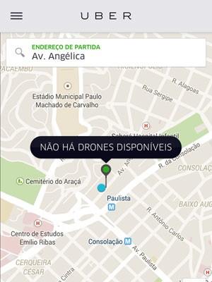 Uber lança serviço de transporte por drones no 1º de abril. (Foto: Divulgação/Uber)