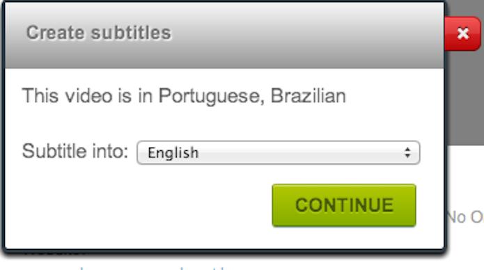 Nesse caso, a língua original já estava selecionada. (Foto: Reprodução)