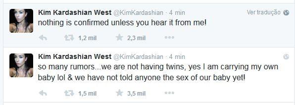 Kim Kardashian (Foto: Reprodução/Twitter)