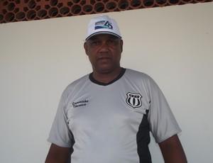 Treinador lamenta a perda do atleta para disputa do módulo II. (Foto: Patrícia Belo)