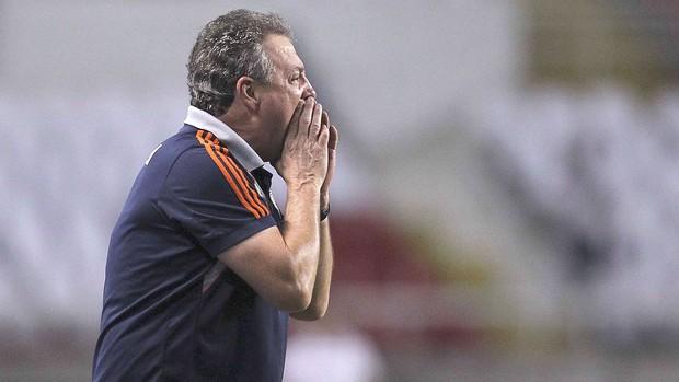 Abel Braga, Fluminense e Coritiba (Foto: Alexandre Cassiano / Agência o Globo)