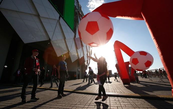 Inauguração Estádio Otkrytie Rússia (Foto: Agência Reuters)