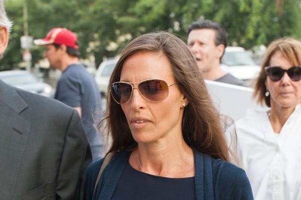 A ex-namorada de Jason Patric,  Danielle Schreiber, em imagem de 2014 (Foto: Getty Images)