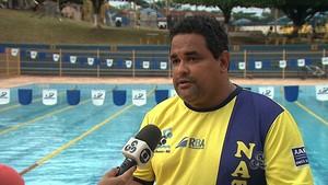 Ricardo Sampaio, presidente da Federação Acreana de Esportes Aquáticos (Faea) (Foto: Reprodução/TV Acre)