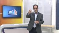 Apresentador explica como gravar vídeo dizendo que Brasil você quer para o futuro