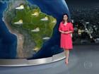 Meteorologia prevê chuva para grande parte do país nesta quarta (11)