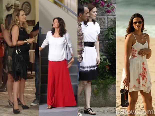 Copie os looks dos pés das personagens de 'Em Família' (Foto: Em Família/TVGlobo)