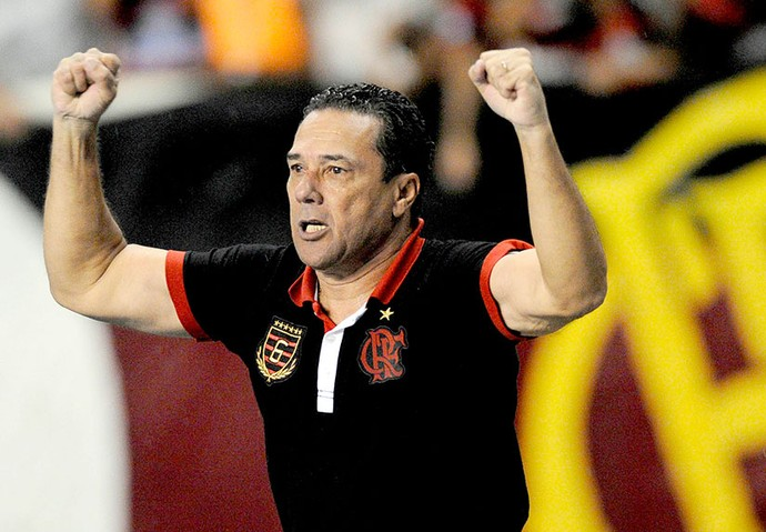 Vanderlei Luxemburgo no Flamengo Arquivo (Foto: VIPCOMM)