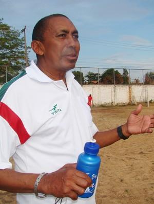 Treinador Toinho (Foto: Náyra Macêdo/GLOBOESPORTE.COM)