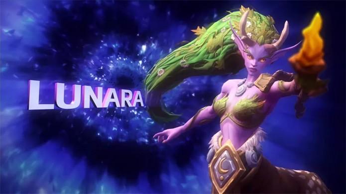 Lunara é uma dos três novos heróis anunciados para Heroes of the Storm (Foto: Reprodução/VG247)
