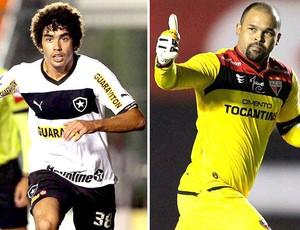 Montagem Bruno Mendes e Márcio  (Foto: Editoria de Arte / Globoesporte.com)