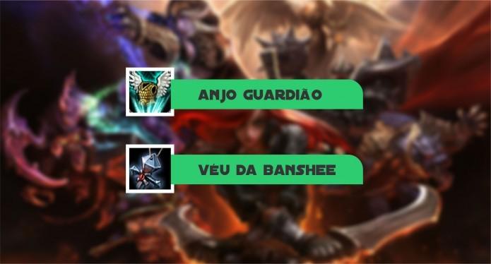 Escolha fazer Anjo Guardião e/ou Véu da Banshee dependendo da partida (Foto: Reprodução/Paulo Vasconcellos)