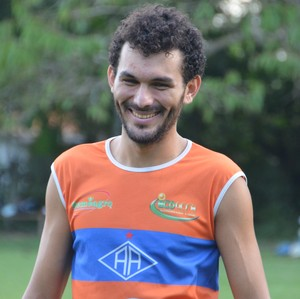 Eduardo Magrão, volante do Atlético-AC (Foto: Murilo Lima)