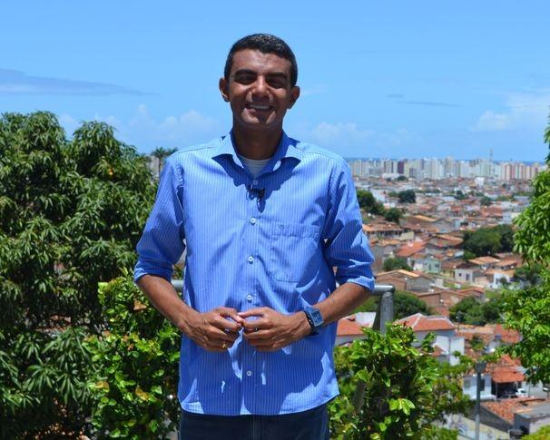 Anderson Barbosa apresenta o Terra Serigy desse sábado (Foto: Divulgação/ TV Sergipe)