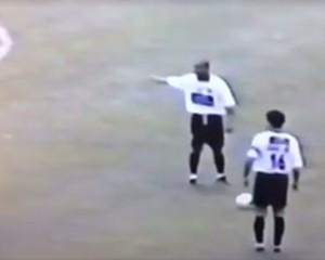 Caio Júnior gol Rio Branco (Foto: Reprodução)