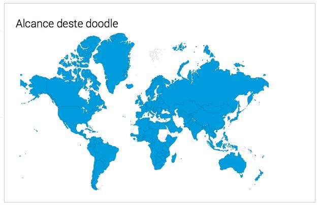 Feliz Ano Novo! Doodle do Google de Revéillon celebra último dia do ano no mundo todo (Foto: Reprodução/Google)