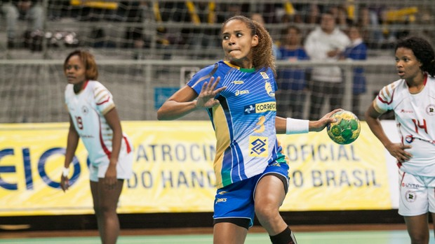Alexandra Nascimento handebol brasil (Foto: Gabriel Inamine/Photo&Grafia)