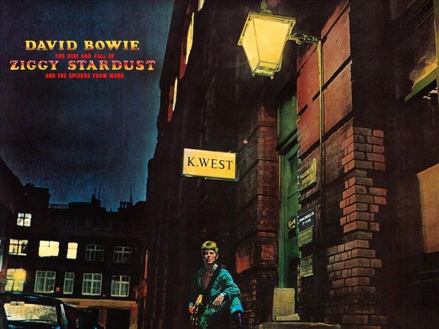 Capa do 'The Rise and Fall of Ziggy Stardust and the Spiders From Mars', disco de David Bowie (Foto: Divulgação)
