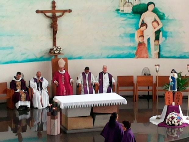 Missa marca 23 anos de morte de Irmã Dulce (Foto: Robel Sousa/TV Bahia)