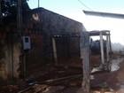 Incêndio em casa mobiliza Corpo de Bombeiros em Tupã