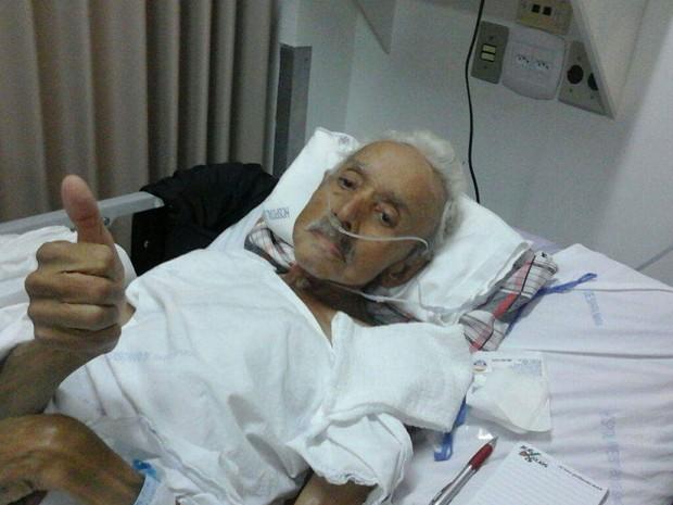 Nery aguarda por cirurgia há duas semanas (Foto: Arquivo Pessoal)