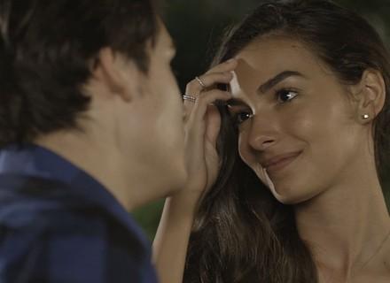 Clima esquenta entre Rodrigo e Luciana